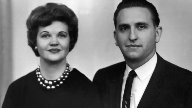 president monson with wife d