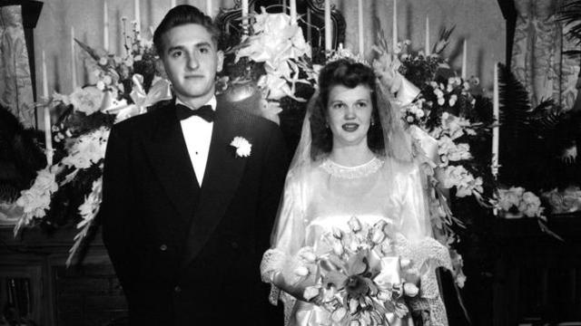 president monson with wife wedding